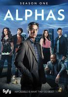 Cover image for Alphas. Season 1, Complete