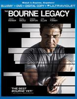 Cover image for The Bourne legacy [videorecording Blu-ray]