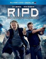 Cover image for R.I.P.D. [videorecording Blu-ray] : Rest In Peace Department