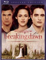 Cover image for Twilight saga. Breaking dawn, part 1