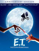 Cover image for E.T., the Extra-Terrestrial [videorecording Blu-ray]
