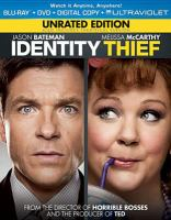 Cover image for Identity thief [videorecording Blu-ray]
