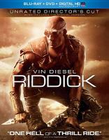 Cover image for Riddick [videorecording Blu-ray].