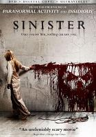 Cover image for Sinister [videorecording DVD]