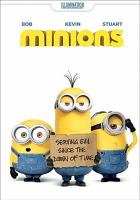 Cover image for Minions [videorecording DVD]