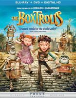 Cover image for The BoxTrolls [videorecording Blu-ray]