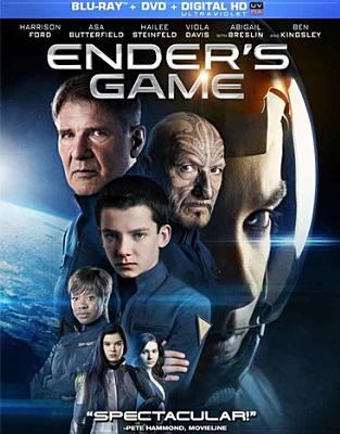 Cover image for Ender's game [videorecording Blu-ray]