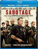Cover image for Sabotage [videorecording Blu-ray] (Arnold Schwarzenegger version)