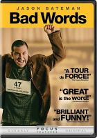Cover image for Bad words [videorecording DVD]