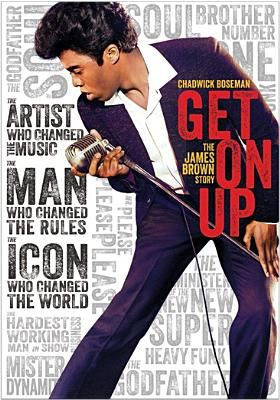 Cover image for Get on up : the James Brown story [videorecording DVD]