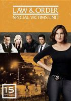 Cover image for Law & order, SVU. Season 15, Complete