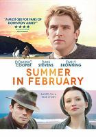 Cover image for Summer in February [videorecording DVD]