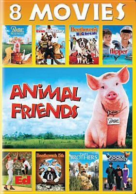 Cover image for Animal friends [videorecording DVD] : 8 movies