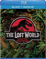 Cover image for The lost world [videorecording Blu-ray] : Jurassic Park