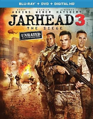 Cover image for Jarhead 3 [videorecording DVD] : the siege