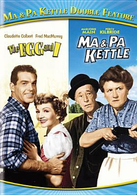 Cover image for The egg and I [videorecording DVD] ; Ma and Pa Kettle.