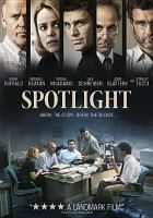 Cover image for Spotlight [videorecording DVD]