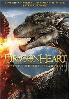 Cover image for Dragonheart [videorecording DVD] : battle for the heartfire