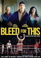 Cover image for Bleed for this [videorecording DVD]
