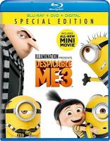 Cover image for Despicable me 3 [videorecording Blu-ray]