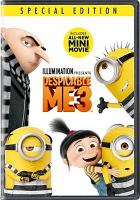 Cover image for Despicable me 3 [videorecording DVD]