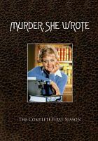 Cover image for Murder, she wrote. Season 1, Complete
