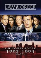 Cover image for Law & order. Season 4, Complete [videorecording DVD]