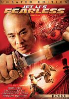 Cover image for Jet Li's Fearless