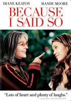 Cover image for Because I said so