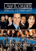 Cover image for Law & order, SVU. Season 03, Complete [videorecording DVD]