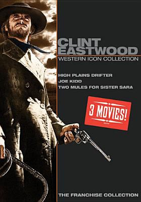 Cover image for Clint Eastwood [videorecording DVD] : Western icon collection