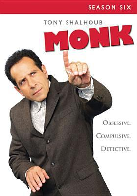 Cover image for Monk. Season 6, Complete [videorecording DVD]