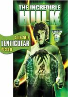 Cover image for The Incredible Hulk. Season 3, Complete [videorecording DVD]