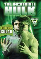 Cover image for The incredible Hulk. Season 4, Complete [videorecording DVD]