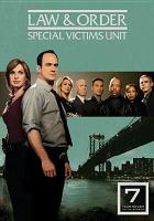 Cover image for Law & order, SVU. Season 07, Complete [videorecording DVD]