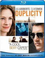 Cover image for Duplicity [videorecording Blu-ray]