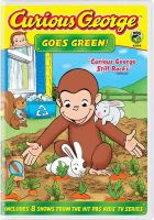Cover image for Curious George goes green