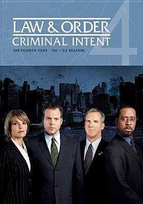Cover image for Law & order: Criminal intent. Season 04, Complete