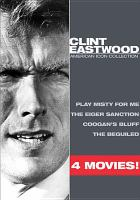 Cover image for Clint Eastwood [videorecording DVD] : American icon collection.