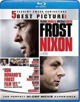 Cover image for Frost/Nixon