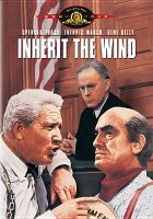 Cover image for Inherit the wind (Spencer Tracy version)