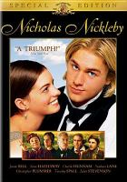 Cover image for Nicholas Nickleby (Charlie Hunnam version)