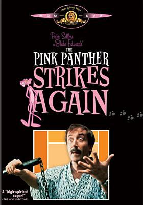 Cover image for The Pink Panther strikes again