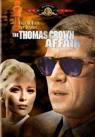 Cover image for The Thomas Crown affair [videorecording DVD] (Steve McQueen version)