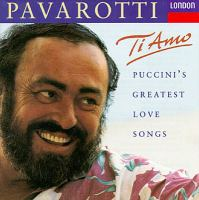 Cover image for Ti amo Puccini's greatest love songs.