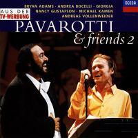 Cover image for Pavarotti & friends 2 [sound recording CD].
