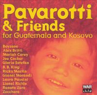 Cover image for Pavarotti & friends for Guatemala and Kosovo