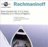 Cover image for Piano concerto no. 2 in C minor Rhapsody on a theme of Paganini