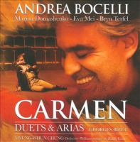 Cover image for Carmen [sound recording CD] : arias & duets : Georges Bizet