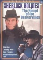 Cover image for The hound of the Baskervilles [videorecording DVD]